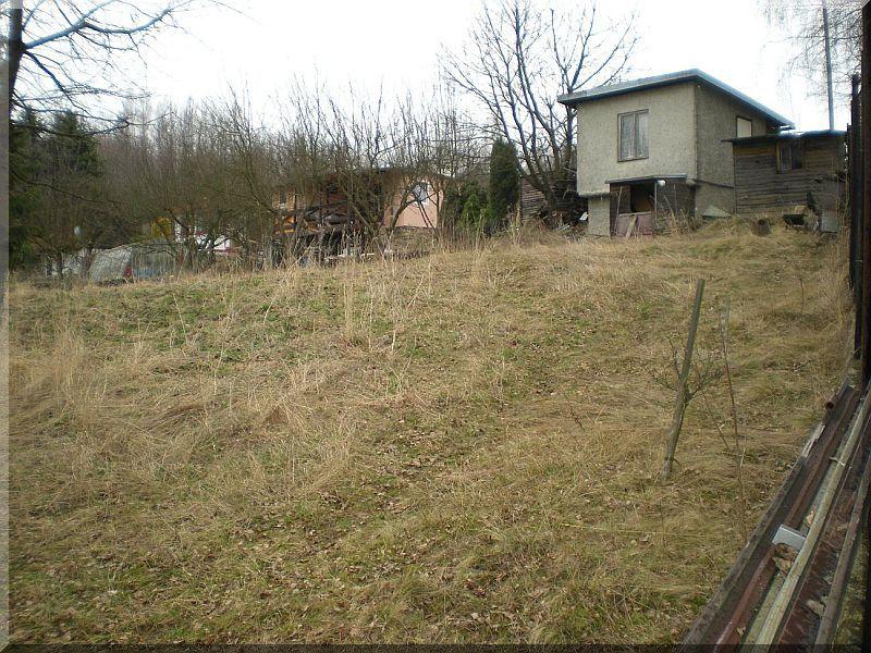 Zahradní chata 25 m2, zahrádka 450 m2, Sadov